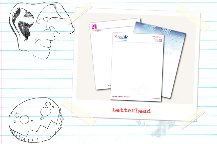 types of letter heads